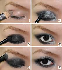 how to put on smokey eyeshadow for brown eyes image