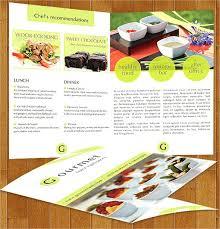 Catering Pamphlet Template Food Flyer Templates Event Puntogov Co