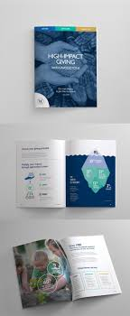 Christian Pamphlet Designs Sales Booklet For Waterstone Christian Nonprofit Financial