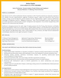 Entry Level Business Intelligence Analyst Resume Sample Senior Ent