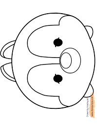 Tsum Tsum Printable Activities Disney Tsum Tsum Printable Coloring