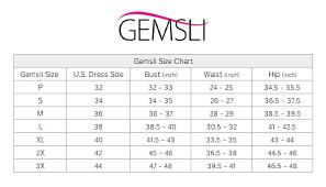 Slip On Size Chart Gemsli Classica Nylon Half Slip
