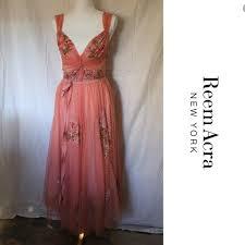 Reem Acra Size Chart Reem Acra Embellished Tulle Princess Dress Sz 6