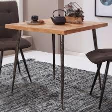 Küchentisch Aus Holz Und Metall Esszimmer Tisch Bank