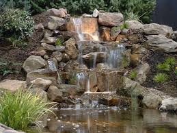 Creat Geous Garden Waterfall Picture