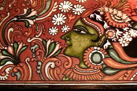 kerala mural painting lady in strike data recalc dims
