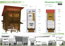 Small Picture Vernacular Module Cambodian Sustainable Housing Competition Entry