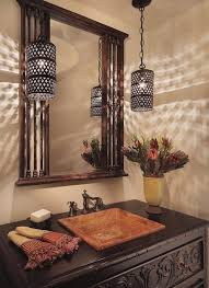 powder room lighting. powder room lighting ideas mediterranean with pendant lights woodwork guest bath t