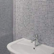 mosaic grey tile effect panels from the