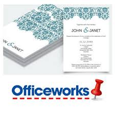 Upload And Print Invitations Online How I Printed My Wedding Invitations At Officeworks