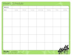 College Schedule Template Enchanting College Weekly Schedule Template Free Format Timetable For Teachers