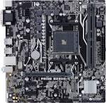 Материнська плата ASUS PRIME B350M-K, Socket AM4, AMD Ryzen/7th Generation A-series/Athlon, AMD, AMD B350, DDR4, 32 GB, 1 x PCIe 3.0/2.0 x16, 2 x PCI-Eх 2.0 x1, 1 x M.2, 4 x Sata 6.0 Gb/s, 1-х USB 3.0, 2-х USB 2.0, UEFI