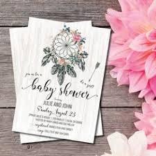 Dream Catcher Baby Shower Invitations Pin by Jourdan Shrontz on Baby Showers Pinterest Babies Boho 59