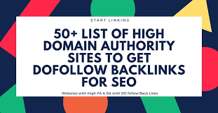 High Domain Authority Sites to Get Backlinks in [current_date format=Y]