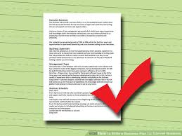 How To Write A Business Plan For Internet Business 8 Steps