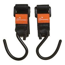 Strollerbuddy® EZY-Fit <b>Stroller Hooks</b> - 2 pack - Dreambaby