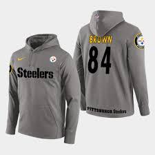 Antonio Gray Brown Pullover - Steelers Player Hoodie