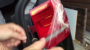 Vw Touran Rear Light Removal How To Change The Backlight Of A Vw Touran 2012