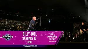 First Council Casino Concerts Seating Chart Billy Joel Hard Rock