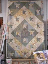 232 best BUGGY BARN´s QUILT images on Pinterest | Barn quilts ... & Buggy Barn Wonky Stars - I love the soft colors Adamdwight.com
