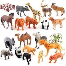plastic zoo animals toys. Modren Plastic Hot 12PCSset Animal Kingdom Plastic Zoo Figure Tiger Leopard Hippo  Giraffe Kids Toy In Animals Toys E
