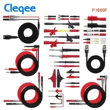 2018 cleqee p1600b 10 in 1 electronic specialties test lead kit automotive probe kit multimeter probe leads banana plug