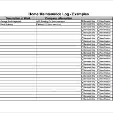 Premium Vehicle Maintenance Log Book Template Sample Duyudu