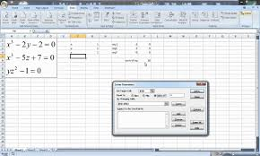 excel for chemical engineers 10 basics solving a system of non linear equations 9 10