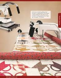New Qnique Quilter from the Grace Company | Quilt and sew ... & Catalog of machine quilting frames, hand quilting frames, quilting hoops  and quilting accessories from The Grace Company Adamdwight.com