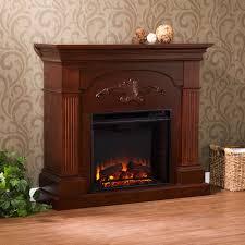 sicilian classic mahogany harvest fireplace