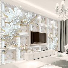 custom 3d wall murals wallpaper wall painting stereoscopic relief jewelry flowers 3d living room tv backdrop mural de parede 3d uk 2019 from homedecor789