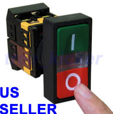 start stop switch on off start stop push button w light indicator momentary switch red green power