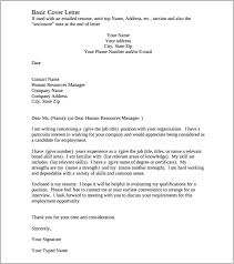 Resume Cover Letter Template Custom Cover Letter Template Word Document