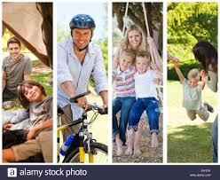outdoor activities collage. Perfect Outdoor Montage Of Families Doing Outdoor Activities Inside Outdoor Activities Collage L