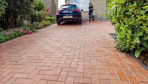Drivesett argent priora block paving project Tegula Priora Drivesys Patented Driveway System Classic Paver Norman Piette Driveways Marshalls Test