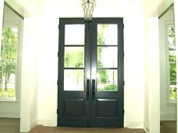 curtains for half glass front door attractive exterior wood doors with superior black stained wooden single