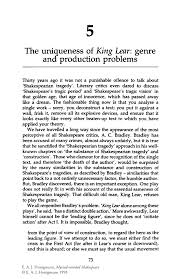 king lear essay possible king lear essay questions  the uniqueness of king lear genre and production problems springer inside