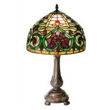 tiffany stained glass lamp. 18 In. Tiffany Stained Glass Lamp S