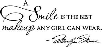 image unavailable image not available for color epic designs a smile is the best makeup any can wear wall