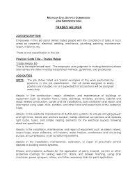 Kitchen Helper Job Description Resume Resume Helper Savebtsaco 14