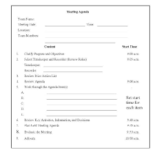 Meeting Minutes Agenda Template Free Contactory Co