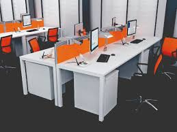 office screens dividers. straight acrylic orange desk divider office screens dividers
