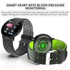 <b>119plus</b> Bluetooth Sports <b>Smart Bracelet</b> Men's and Women's Watch ...