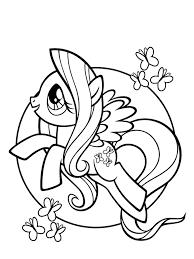 333+ Tranh tô màu ngựa Pony ngộ nghĩnh đáng yêu dễ thương