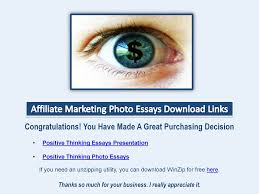 positive thinking photo essays wow profit packs 13 positive thinking photo essays