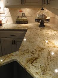 Colonial Gold Granite Kitchen Colonial Gold Holz Stein