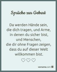Schöne Sprüche Zur Geburt Written Pinterest Geburt Sprüche