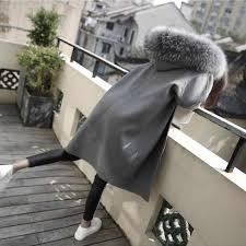 U SWEAR Latest Winter <b>Female Sheepskin</b> Coats High Quality Faux ...