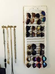 earring display rack 2019 diy sunglasses holder made from window shutter