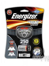 <b>Фонарь Energizer Headlight Vision</b> HD+ Focus E300280702 / 28529